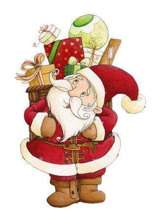 christmasillustr.quenalbertini: Santa Claus