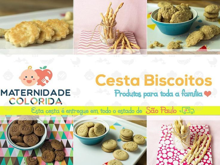 Pessoas lindas do estado de São Paulo novidade quentinha pra vocês!!!!   Agora vocês podem comprar nossa Cesta de Biscoitos que enviaremos para vocês via Correio!    São 12 pacotinhos de biscoitos e vocês escolhem os sabores! Vai dar para 1 mês! Ou seja sua pessoinha vai comer biscoitos feitos com muito amor e com ingredientes sem nomes estranhos!    Bora entrar lá no site http://ift.tt/2muL3K2 e garantir as fornadas desta semana!    #MaternidadeColorida #lojamaternidadecolorida…