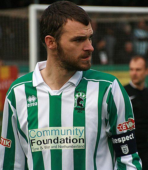 Robbie Dale, Blyth captain.