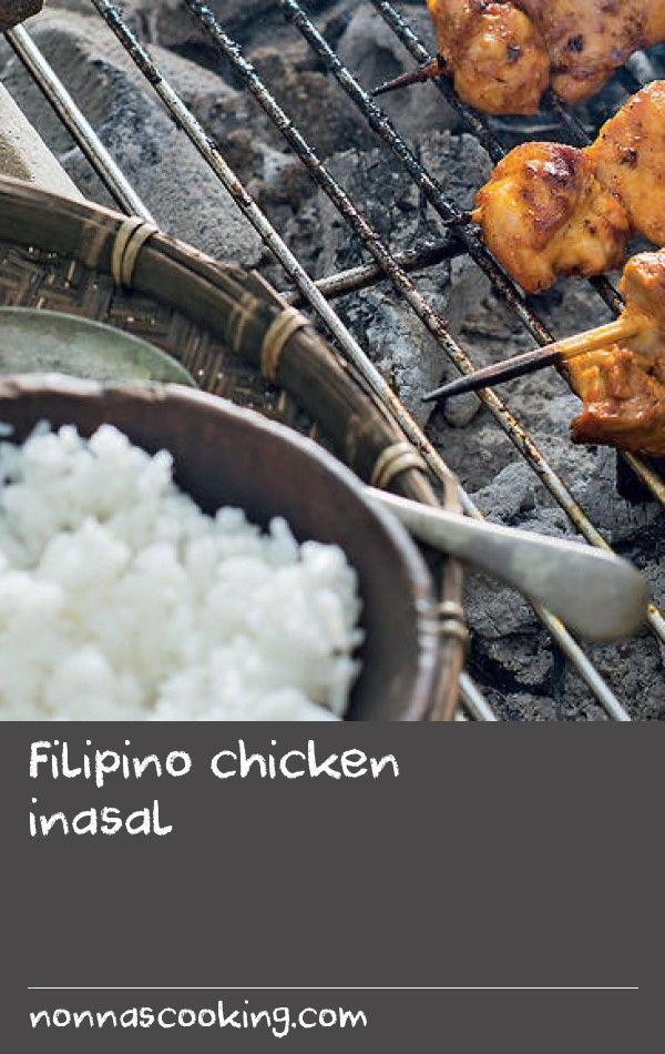 Filipino chicken inasal | The Filipino street food tradition of the ihawan or barbecue stall is found all over the country and people flock to taste inihaw – the all-purpose name for barbecued meat. Expatriate Regina Meehan (from Olongapo City in the Zambales province) has brought the concept to Australia with her husband, James at the pumping Hoy Pinoy stall at Melbourne's Queen Victoria Markets where the chicken inasal is as popular as the lemongrass-marinated suckling pig or lechon.