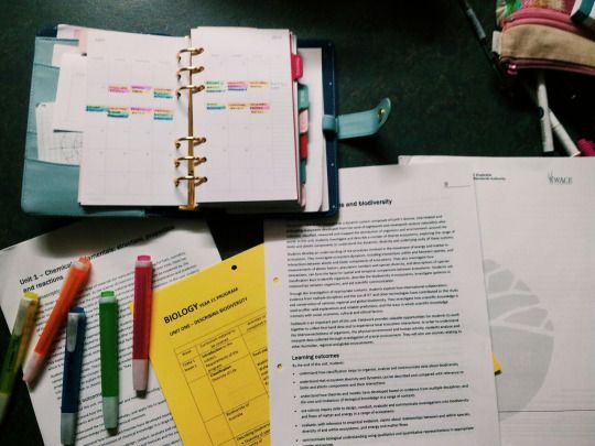 Blank Page: Organizing my revision timetable for exams