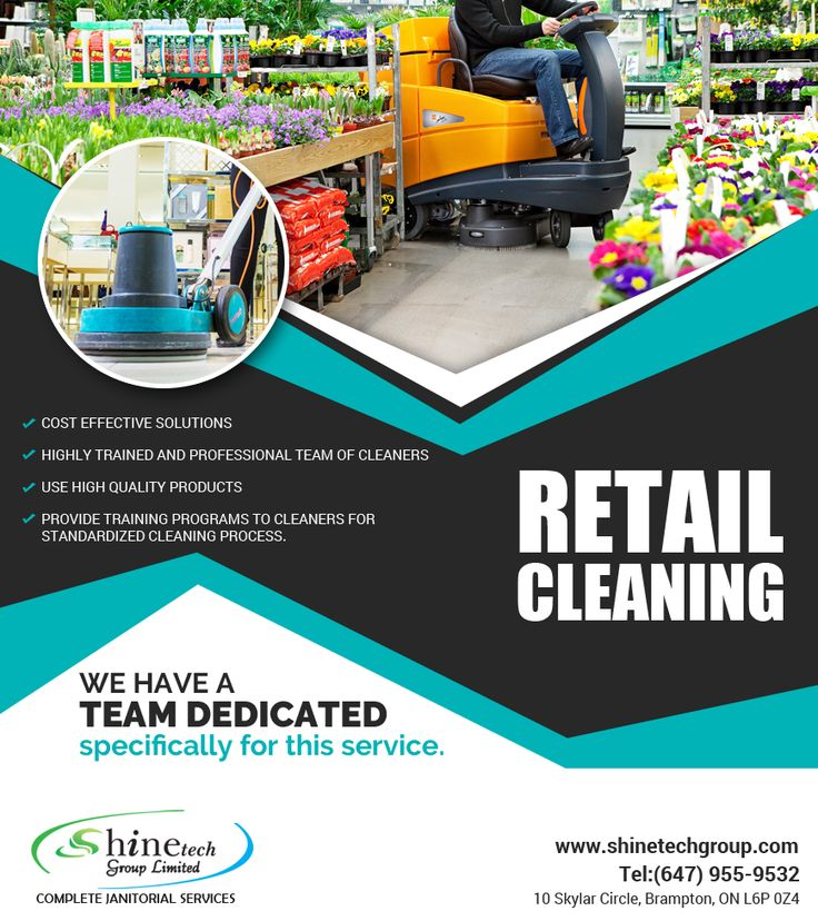 #RetailCleaning #Services #Toronto clean your store or #mall to have shining floors, spotless restrooms, clean fitting rooms, impeccable mirrors
