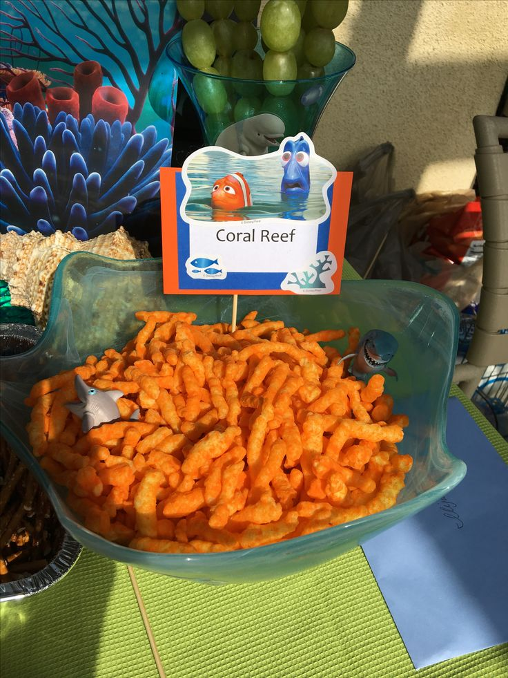 Finding Dory Party | Coral Reef Cheetos