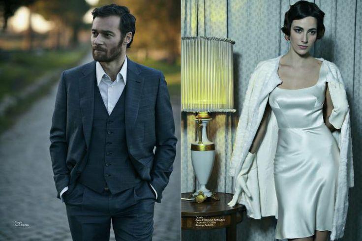 Giorgio Outfit Brioni  http://www.luxuryfiles.it/en/magazine/Winter-2013-14-8