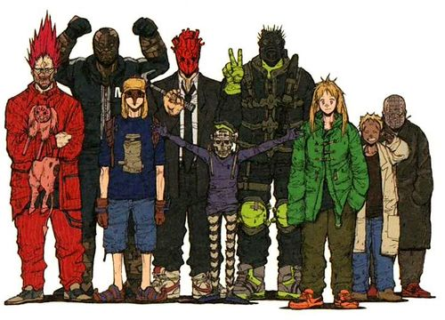 Dorohedoro: Awesome violent series. Glad I can buy it in town~