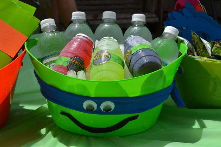 Teenage Mutant Ninja Turtles Birthday Party Ideas   Photo 11 of 37   Catch My Party
