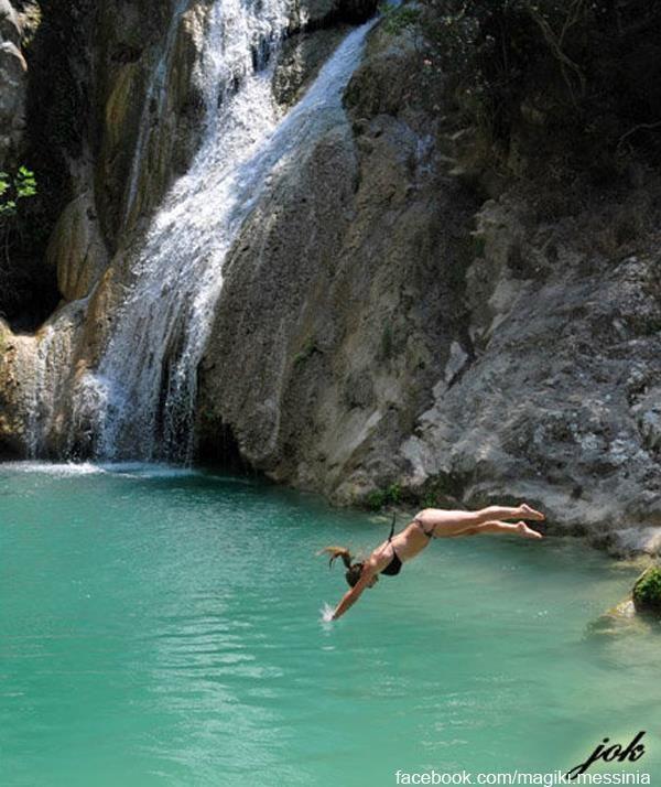 deep blue @Polilimnio Messinia-Greece