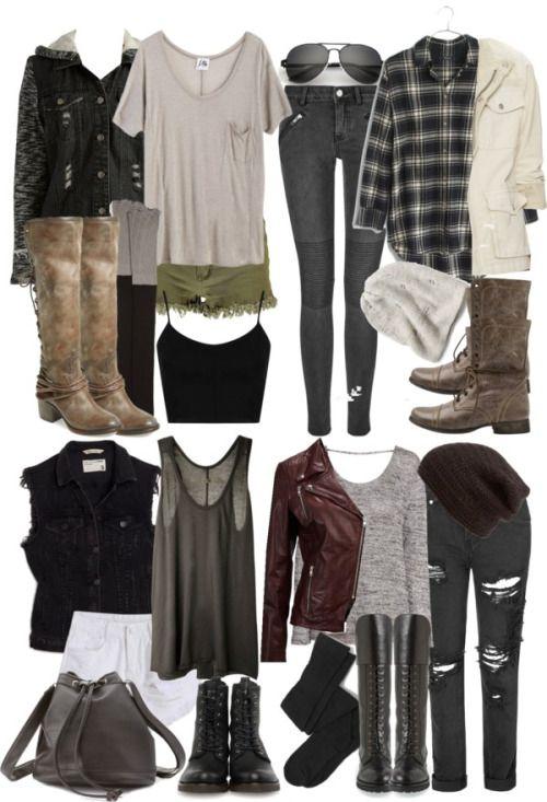 Malia apocalypse outfits