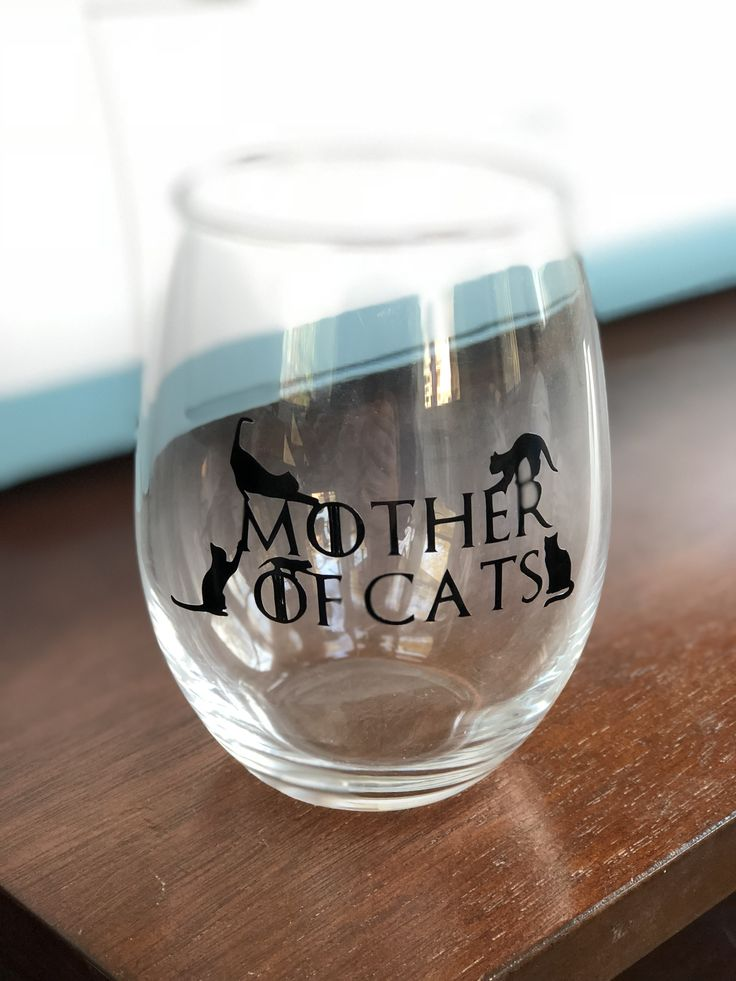 Mother of Cats Vinyl Stickers