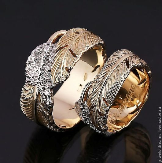 """Обручальное кольцо """"Лебединое"""" 10 000 руб"""