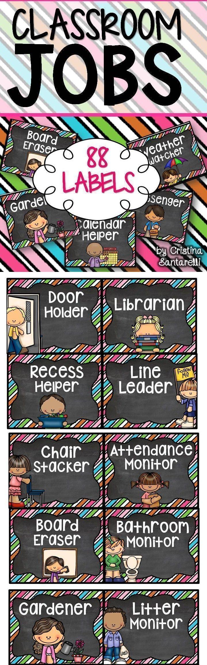 Classroom Jobs!