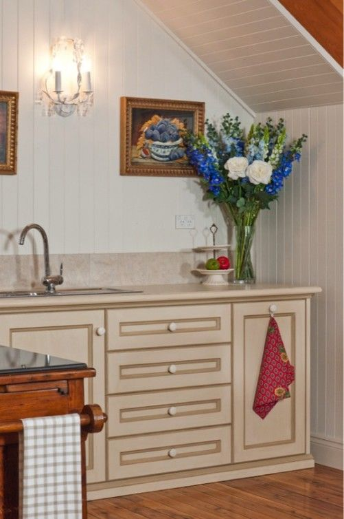 Kitchenette in the French provincial style - French provincial style in Sydney, Australia