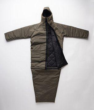 Coat/Sleeping Bag for the Homeless
