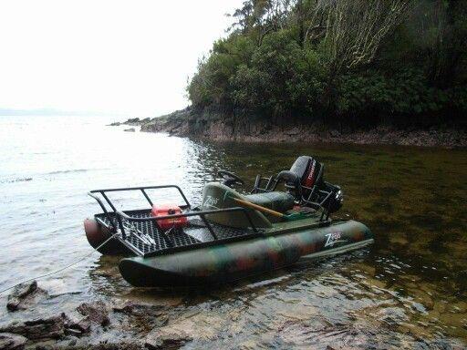 Zego Sport Boat. Looks like a nice fishing platform.