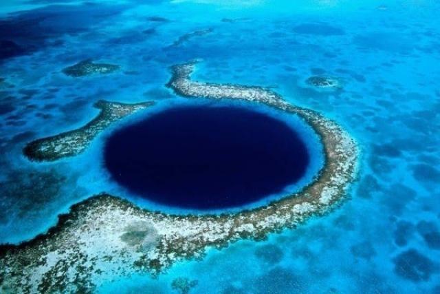 Gran agujero azul (Belice)
