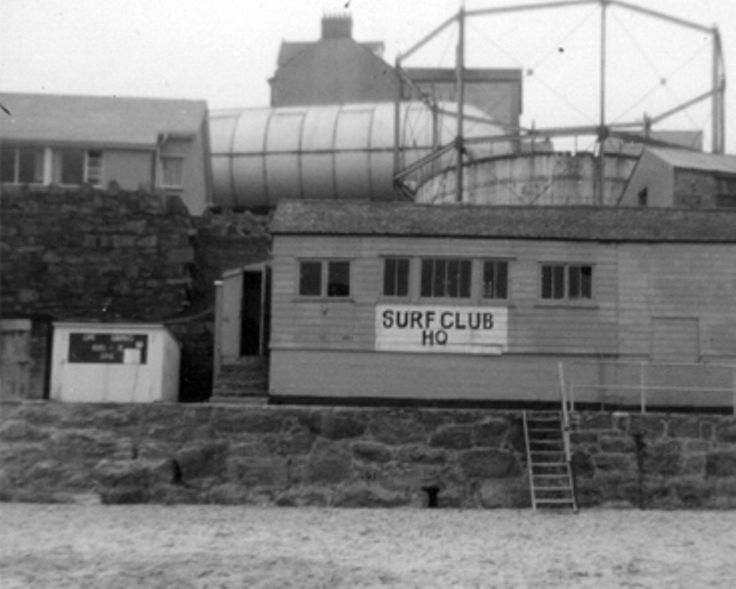 The old gasworks, site of the Tate St.Ives