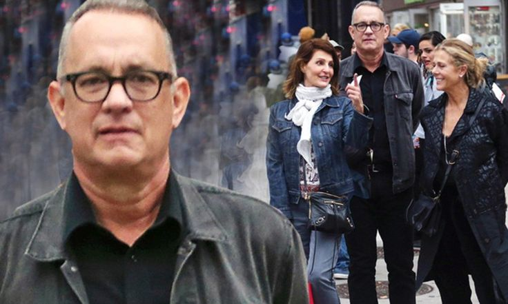 Tom Hanks and wife Rita Wilson can't keep their eyes off each other