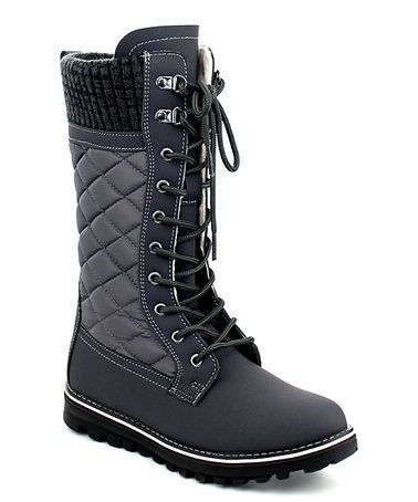Look at this #zulilyfind! Gray Polar Boot - Women #zulilyfinds