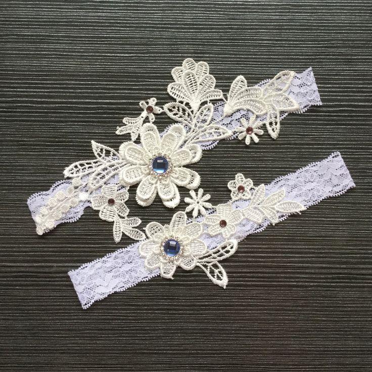 Европейские и американские Bridal подвязка подвязки носки носки ног ноги украшены принцесса свадебные украшения бедра коленей Фото - Taobao