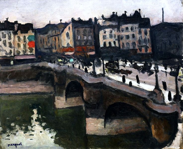 The Pont Neuf, Grey Weather, Paris / Albert Marquet - 1905-1906