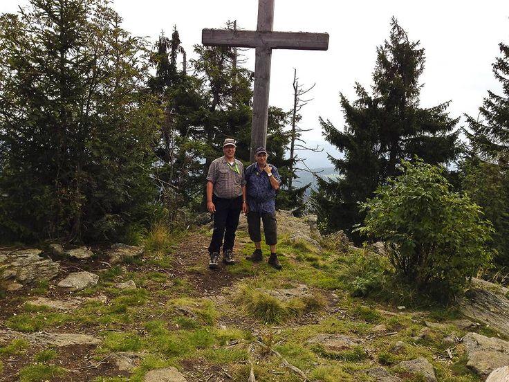 Gipfelkreuz am Siebenstein