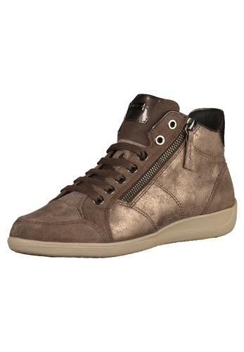 #GEOX #Damen #Sneaker #braun Coole Sneaker mit zusätzlichem Reißverschluss der den Einstieg erleichtert. Der Schuh der atmet - Die Gummisohle ist perforiert und mit einer Spezialmembrane mit Mikroporen ausgestattet. Diese ermöglicht eine natürliche Transpiration und verhindert, dass Wasser eindringt.