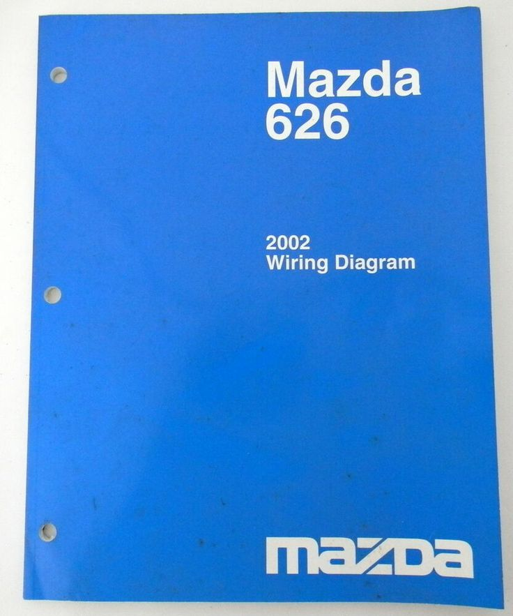 Details About 2002 Mazda 626 Wiring Diagram Service New