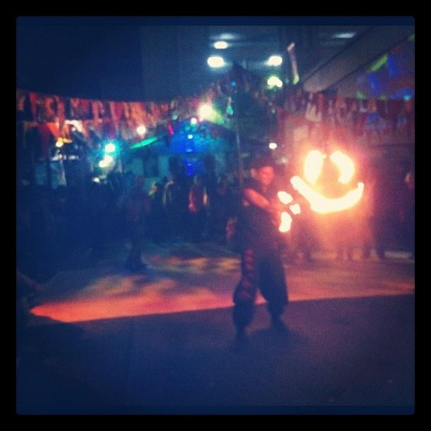 @toastytolsons photo: The fire, it smiles. #freaknation #adelaidefringe @adelaide_fringe