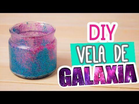 DIY Galaxia en Frasco | Vela de Galaxia muy fácil | Decora tu cuarto | Mini Tip Catwalk ♥ - YouTube