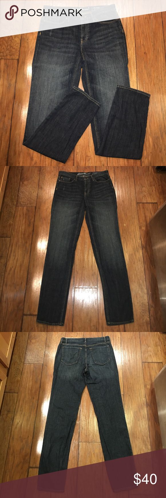 "🍁SALE🍁Eddie Bauer Boyfriend Relaxed Jeans T8 Like new condition Eddie Bauer Jeans. Fit: Boyfriend Leg: Relaxed. Rise is approx 9.5"". Inseam is approx 34"". Factory distressed on the front right pocket as shown in pics. Perfect Jeans for the fall! Offers welcomed. 20% off bundles! Eddie Bauer Jeans Boyfriend"