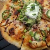Brokeass Gourmet - Mexican pizza