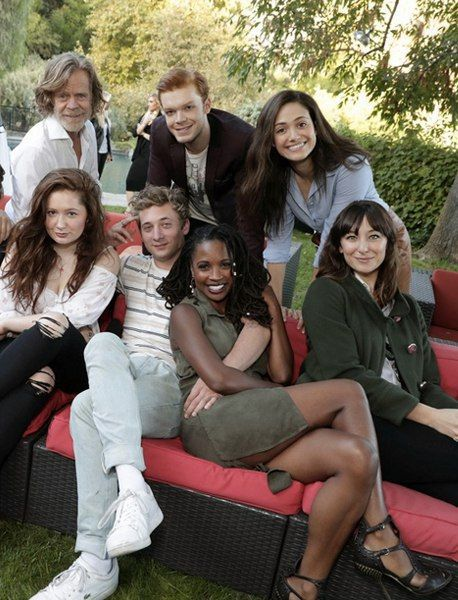 William Macy x Cameron Monaghan x Emmy Rossum x Emma Kenney x Jeremy Allen White x Shanola Hampton x Isidora Gorester