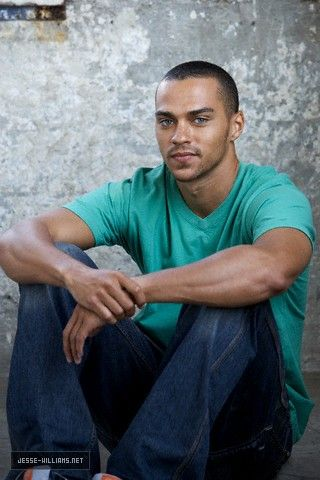 Jesse Williams= yes love him! My dog was named after him in greys anatomy ( Dr. Avery) because he is beautiful and so is she!