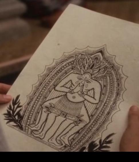 Ketut Liyer's Magic drawing Eat, Pray, Love