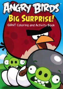 Tris Angry Birds Coloring Book 1 Dollar Tree