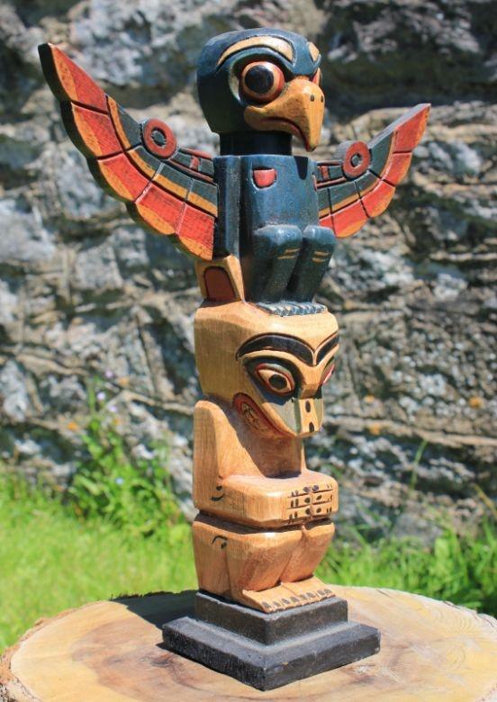 Crow Totem Pole