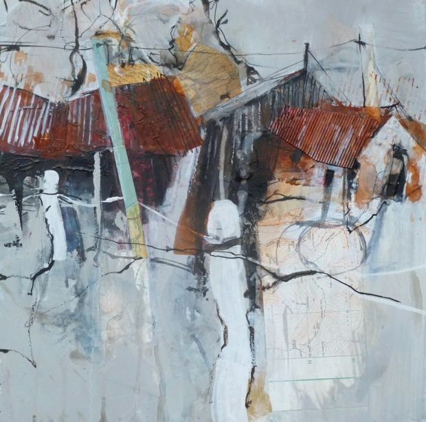 The painter Pete Monaghan tells us about his project involving painting scenes of derelict filling stations in Wales