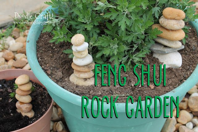 Doodlecraft: Feng Shui Rock Towers