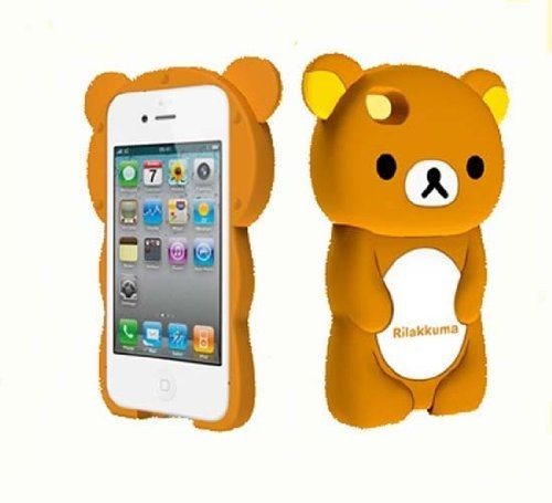 iphone 4s cases cheap byg brown 3d back skin cover for iphone 4 4g 4s 4653