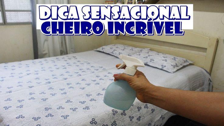CAMA CHEIROSA QUARTO INCRIVELMENTE PERFUMADO GASTANDO QUASE NADA - FAZ E...