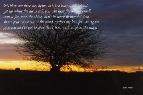 Dierks Bentley - Up On The Ridge Lyrics | MetroLyrics