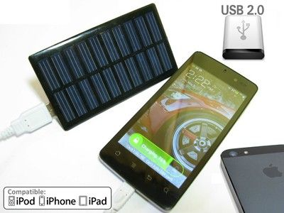 Make a portable solar phone charger for $5