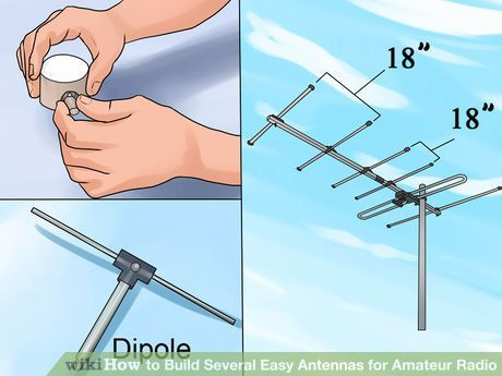 Image titled Build Several Easy Antennas for Amateur Radio Step 19