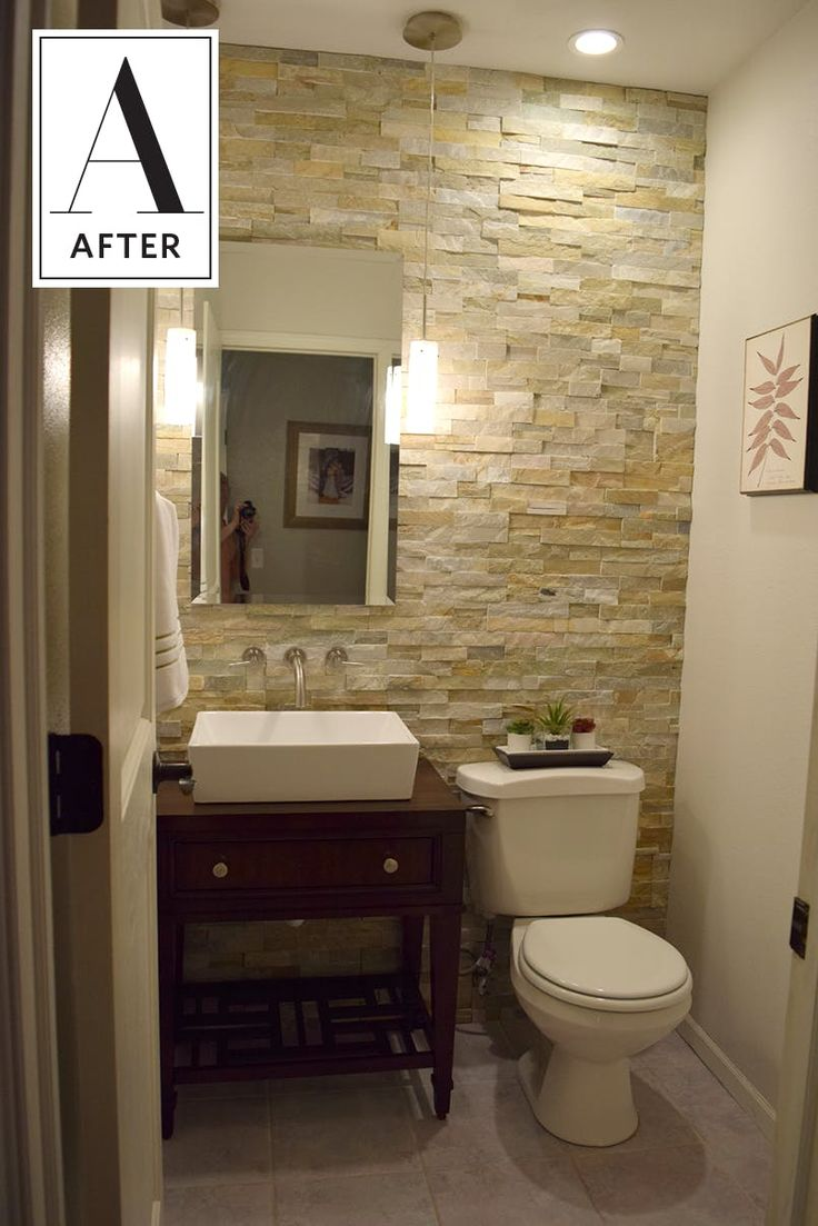 Before & After: Three Days, $800 and One New Half Bath