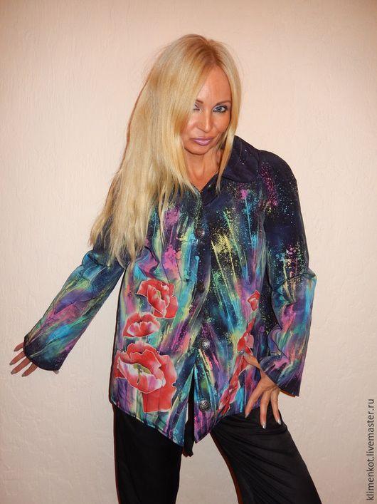 Верхняя одежда ручной работы. Куртка+ платье(теплые,стеганные) - Фейерверк чувств. Клименко Татьяна (klimenkot). Ярмарка Мастеров. Теплая одежда