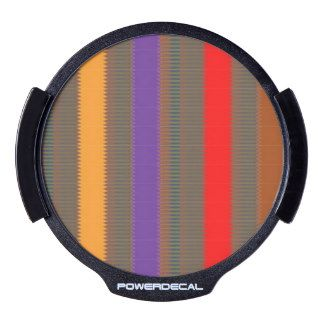 LED Window Decal Colorful rainbow ART  NavinJOSHI
