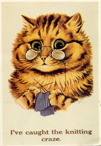 You sure have.  By Louis Wain.