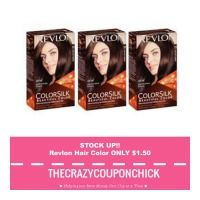 GREAT STOCK UP PRICE!! Revlon Color Silk Hair Color ONLY $1.50 at CVS!!! (starting 8/6)