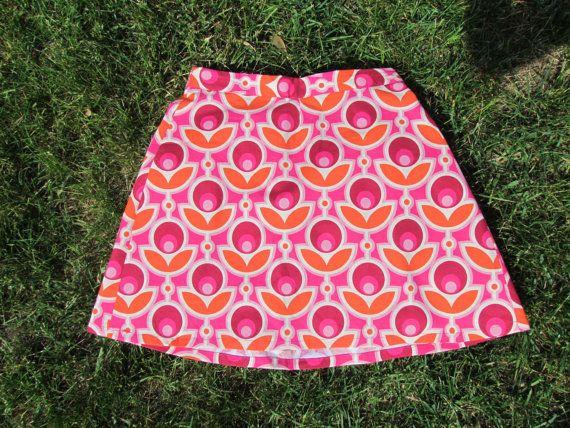 Cynthia Retro Classic Skirt by LighthousesAndLilac on Etsy