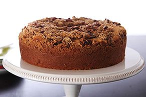 It only takes two tart apples to give this yummy streusel-topped coffee cake its big apple flavor. And the moist, tender texture? Thank the sour cream.